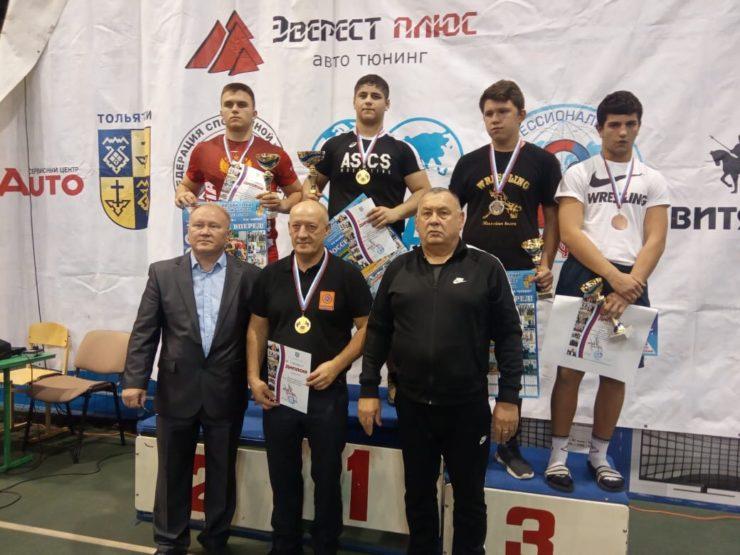 Всероссийские соревнования по вольной борьбе памяти ЗТР И. Самылина