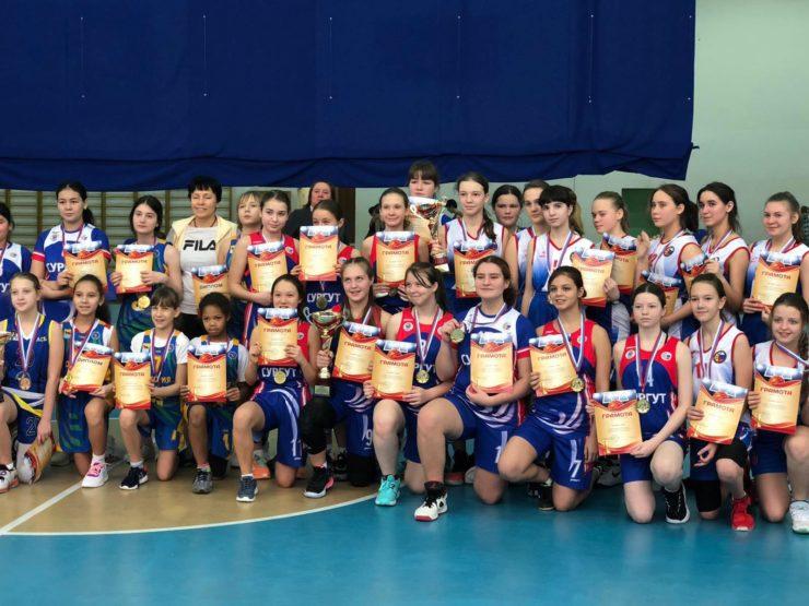 Отчёт о проведении открытого первенства города Сургута по баскетболу среди девушек 2006-2008 годов рождения в рамках акции «В спорте нет наций».