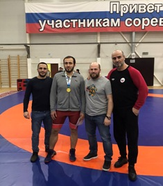 Чемпионат УРФО по спортивной борьбе (вольная борьба) среди мужчин