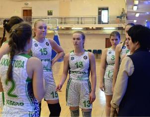 Отчёт о выступлении  команды  «Югра»  в полуфинальном раунде первенства ДЮБЛ среди юниорок до 19 лет