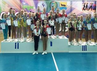 Чемпионат и первенство города Сургута по спортивной аэробике