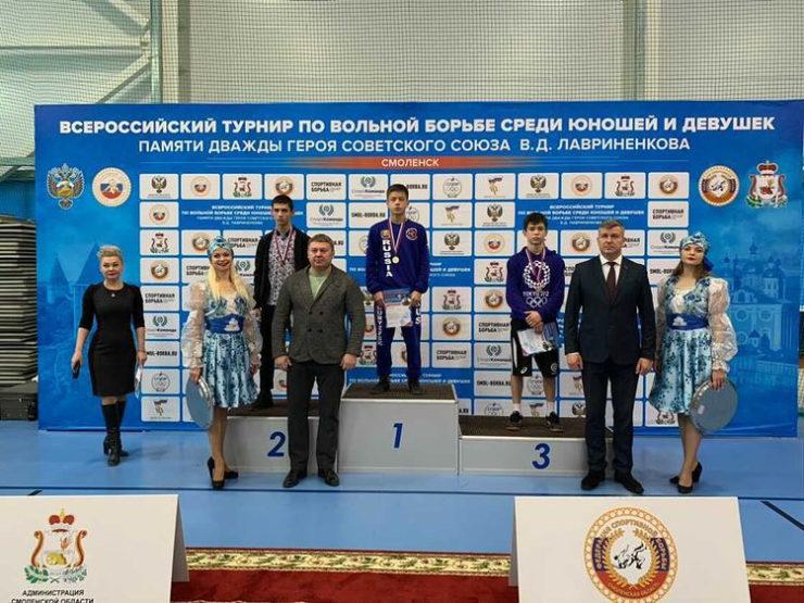 Всероссийские соревнования по вольной борьбе