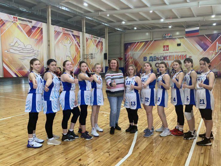 Итоги выступления сборной команды города Сургут в первенстве ХМАО-Югры по баскетболу среди девушек до 15 лет (2007-2009 гг.р.)