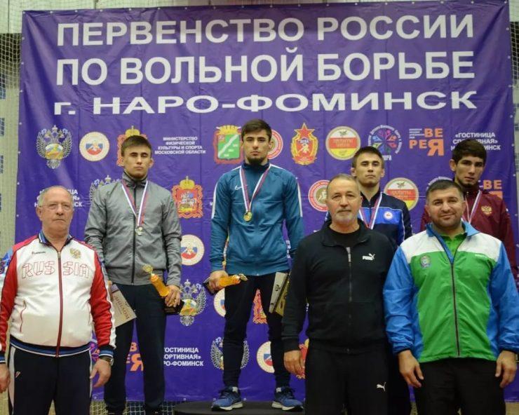Первенство России по спортивной борьбе (дисциплина — вольная борьба) среди юниоров до 24 лет