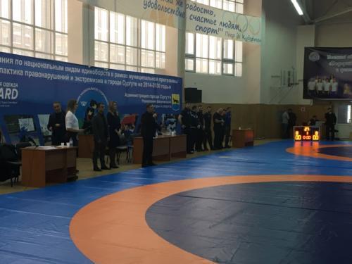 Первенство ХМАО-Югры по спортивной борьбе (вольная борьба) среди юниоров до 21 года