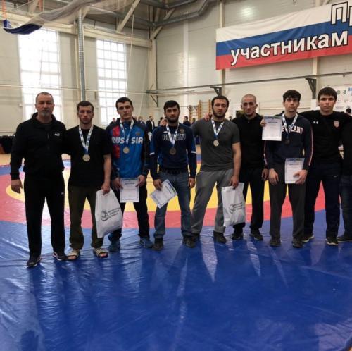 Чемпионат УрФО по вольной борьбе среди мужчин