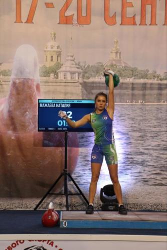 Чемпионат и первенство России по гиревому спорту
