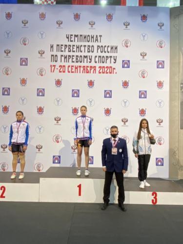 Мажаева Н. 3 место