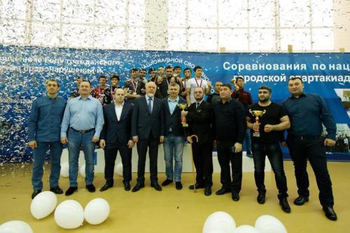 Спортивная борьба народов Ханты и Манси в рамках V городской спартакиады национально-культурных объединений