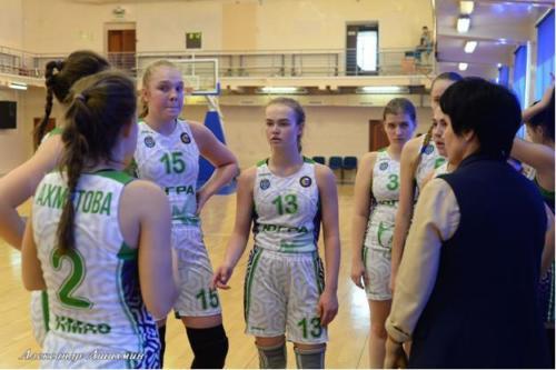 Второй полуфинальный раунд первенства ДЮБЛ среди юниорок до 19 лет. г. Оренбург
